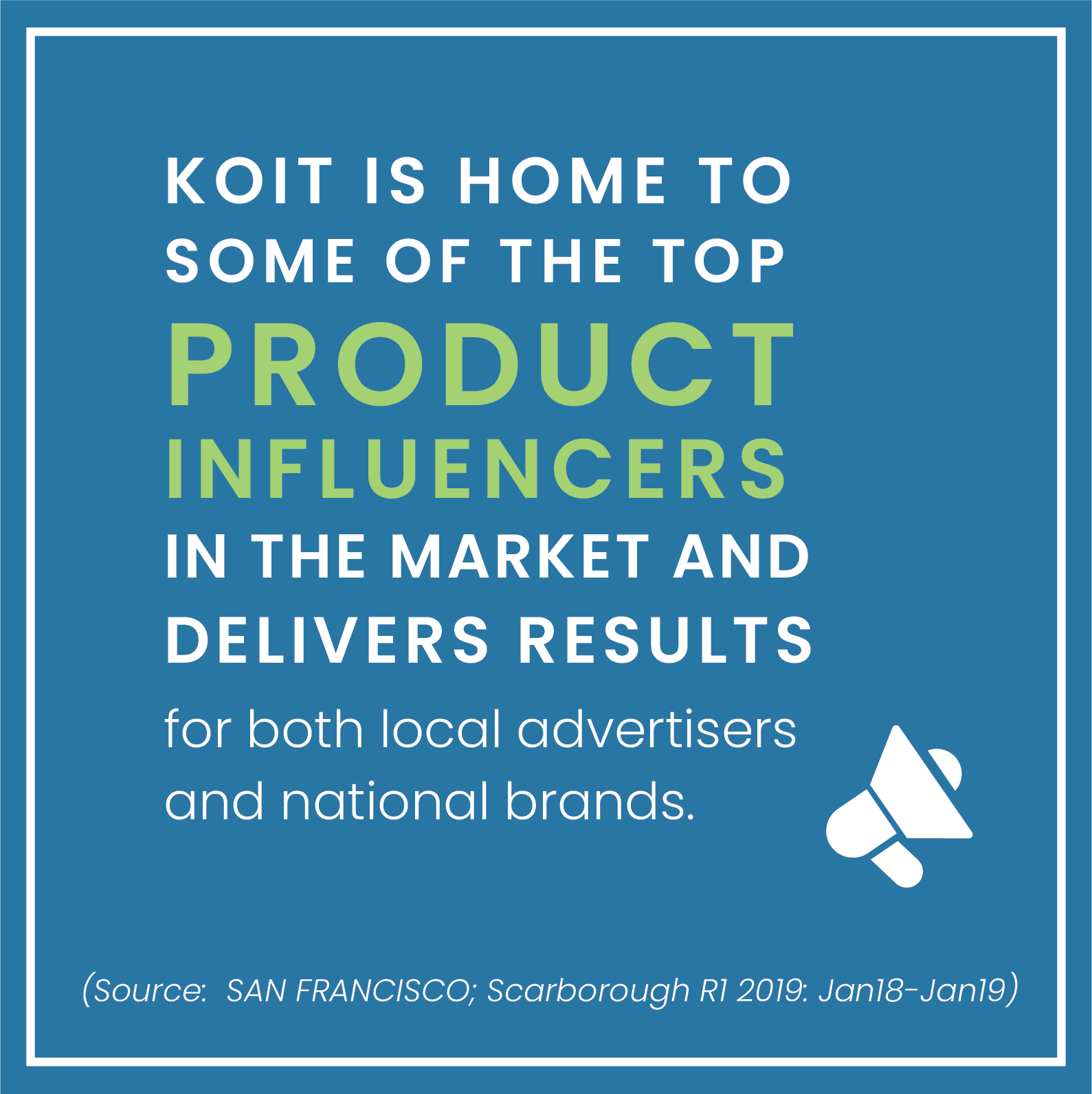 KOIT home to top product influencers